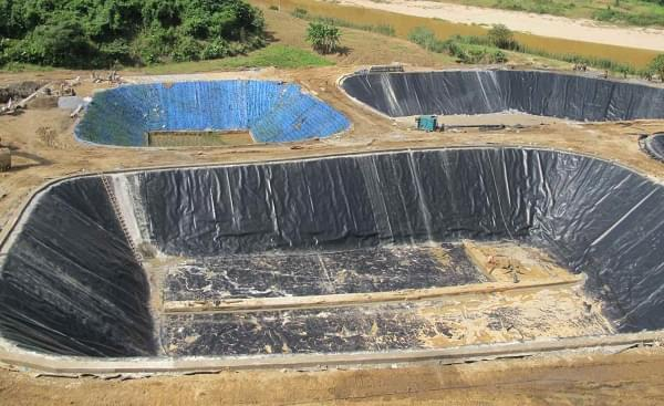 Cơ sở cung cấp bạt HDPE lót hồ xử lý nước thải