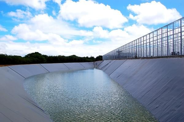 Đơn vị cung cấp bạt HDPE làm hồ cảnh quan