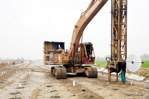 Bấc thấm ngày càng được sử dụng phổ biến trong các công trình, kết cấu hạ tầng