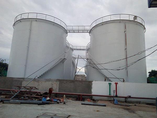 Dùng màng HDPE chống thấm lót bể chứa xăng dầu